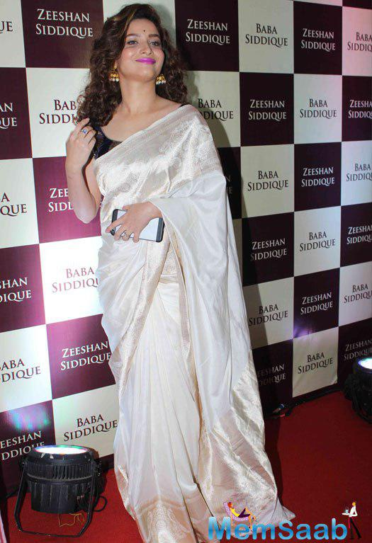 Ankita Lokhande turned heads at Baba Siddique's Iftar party