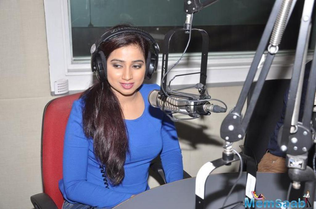 We broke a news that, Bhansali's upcoming film will star his favourite pair Deepika and Ranveer. Now a new on the air, Shreya Ghoshal has recorded a song for 'Padmavati'.