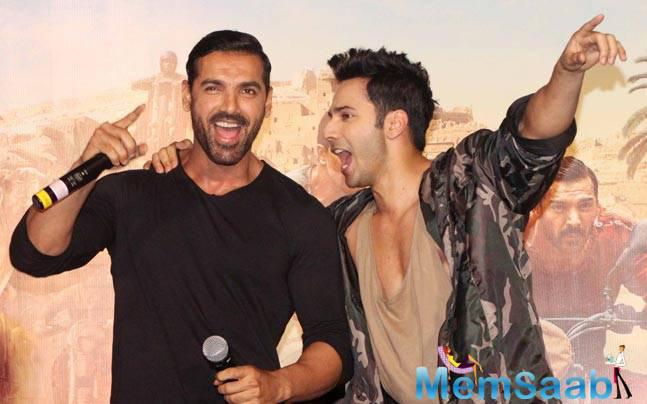 John Abraham and Varun Dhawan-starrer Dishoom opened with good response in India with its high masala content.