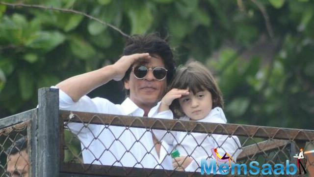 Fan star is capturing every moment of adventure he can have with his three-year-old son, AbRam Khan. SRK little son AbRam is indeed one of the future stars of the film industry.