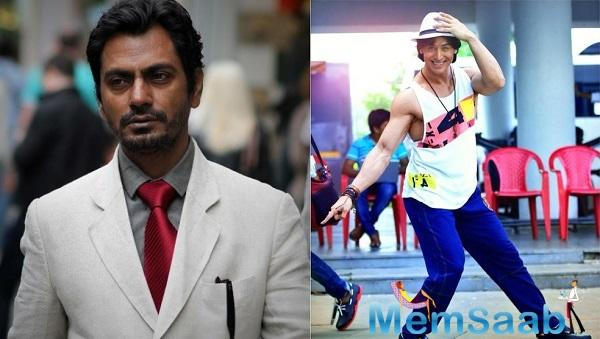 Nawazuddin words, Tiger is such a good dancer. I'm learning bit by bit. There was always a block in my mind regarding dancing, so my body isn't used to it.
