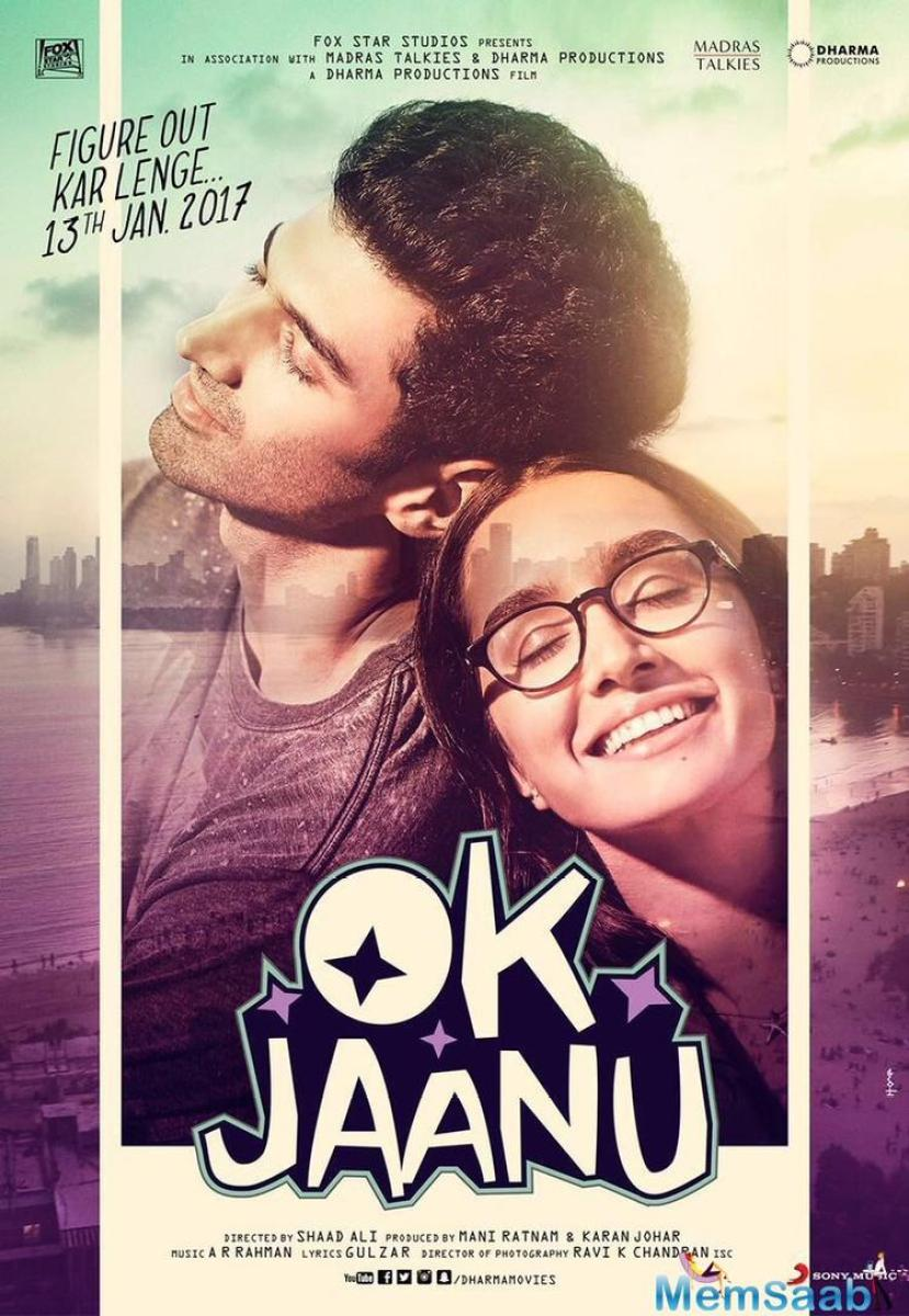The first poster of Shaad Ali's 'OK Jaanu' was launched 2 days ago, and now, the makers have revealed the second poster. And both the poster shared by Karan Johar on his blog.