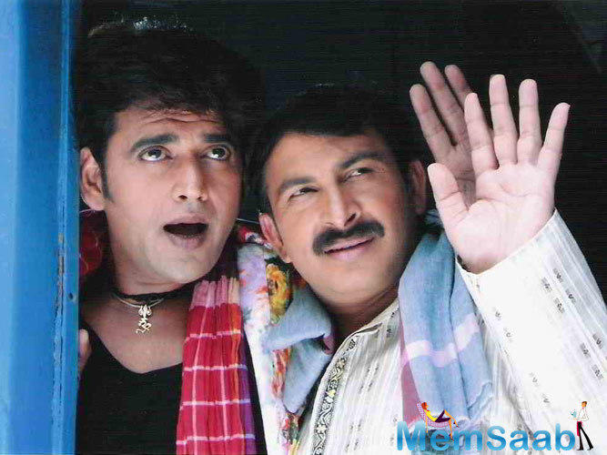 Manoj's scene in the film was a concert sequence while Farhan's character tries to reach Manoj, who's performing on stage, and fails to do so.
