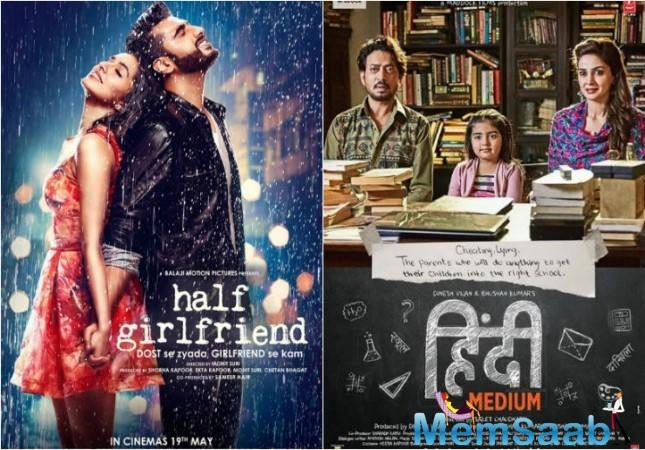 As for Half Girlfriend, it needed a good opening and then was reasonably stable during the weekdays as well.