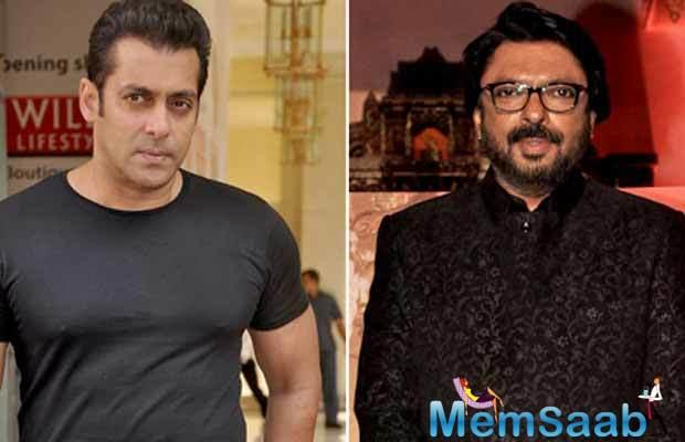 Salman Khan and Sanjay Leela Bhansali were last seen together a decade ago in 'Saawariya'.