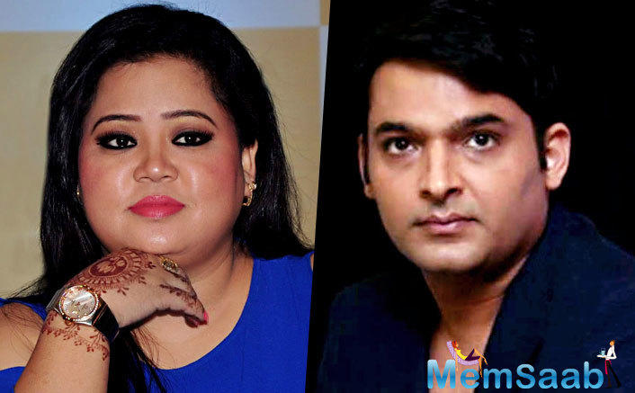 But here, a Photograph of Bharti and Kapil Sharma proved the reports to be false.