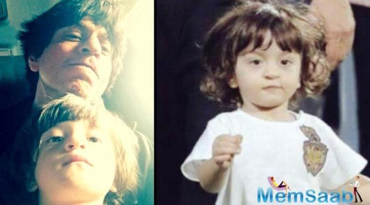 Everybody knew AbRam, SRK's third child, who become popular in itself, his cuteness just stole all the hearts.