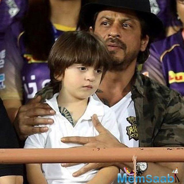 The Fan actor feels elated that his third child AbRam is receiving affection from all around.
