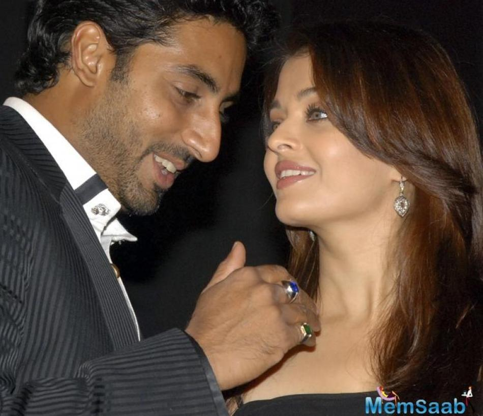 """""""Abhishek and Aishwarya are still bombarded with a plethora of scripts. However, they are quite wary of the kind of films they would like to do together""""."""