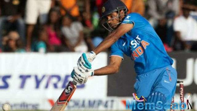 After losing 7 wickets, MS Dhoni clam nature and Bhuvneshwar Kumar's maiden 50 helps India win the match.