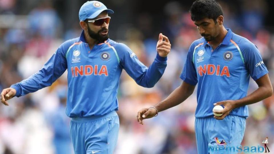 Credit to India with the way they bowled. Their opening spell put us under a lot of pressure.