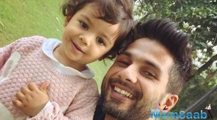 Ever since her birth, Misha has had her father Shahid Kapoor wrapped around her little finger.
