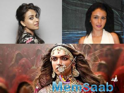 Suchitra Krishnamoorthi criticised Swara Bhaskar for saying that by the end of Sanjay Leela Bhansali's Padmaavat she