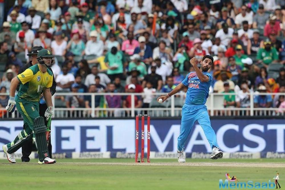 However, Virat Kohli and co proved to be too good for the Proteas as they restricted JP Duminy's men to 180-8.