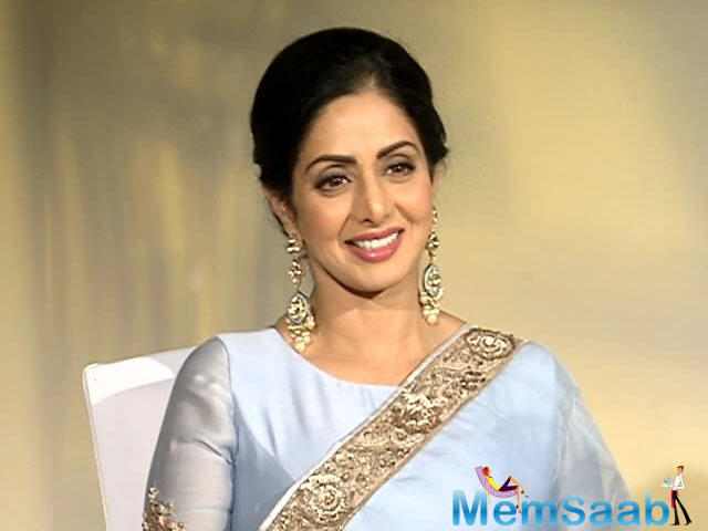 While we still wonder if Sridevi would come on board for the show, it would be really interesting to see the diva on a small screen.