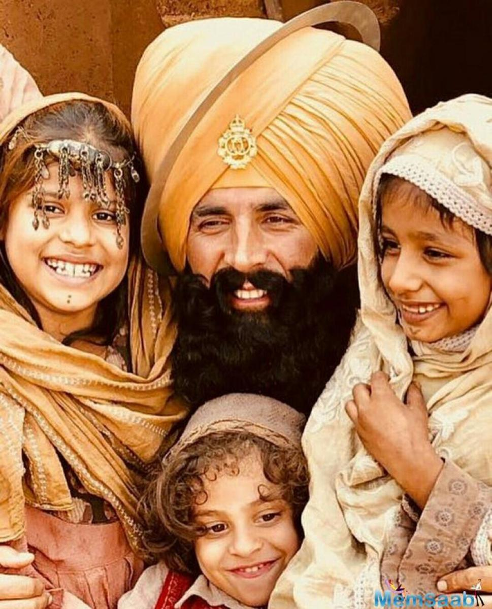 Akshay had taken to his Twitter account to release the first look of the film and had written about how proud and happy he was to begin 2018 with Kesari.