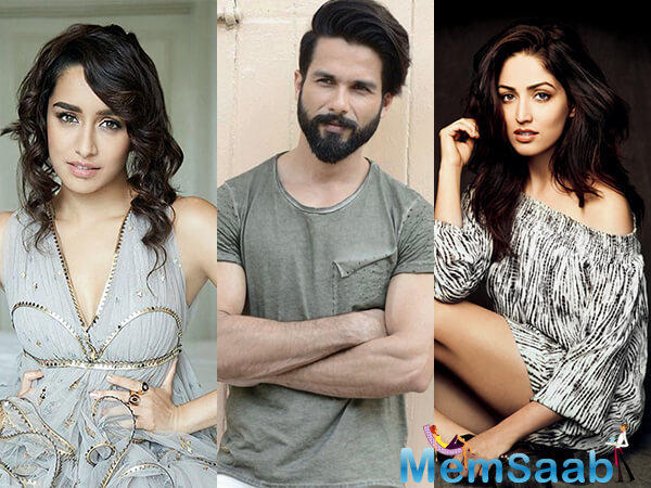 The actress is excited to play a lawyer for the first time. The film also stars Shahid Kapoor and Shraddha Kapoor in the lead.