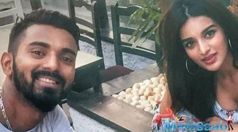 """Cricketer KL Rahul says he is not dating """"Munna Michael"""" actress Nidhhi Agerwal."""