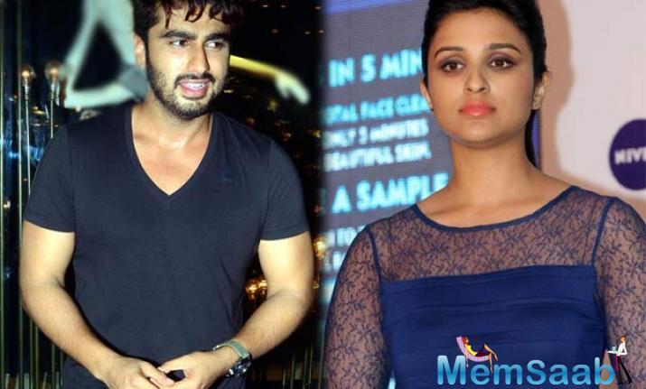 Parineeti Chopra and Arjun Kapoor belong to a mutual admiration society.