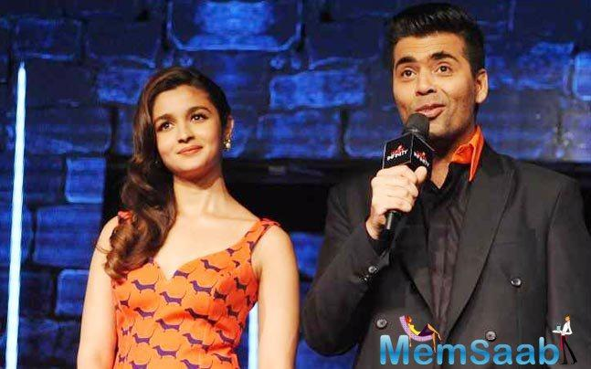 Karan decided to make his first epic costume drama a la Bhansali and he wanted Alia to be a part of it. Naturally, the actress, who's had some of her biggest hits with Dharma Productions, couldn't say no.
