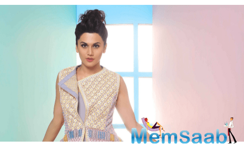 Taapsee says her goal is to become one of the most popular stars of her generation.