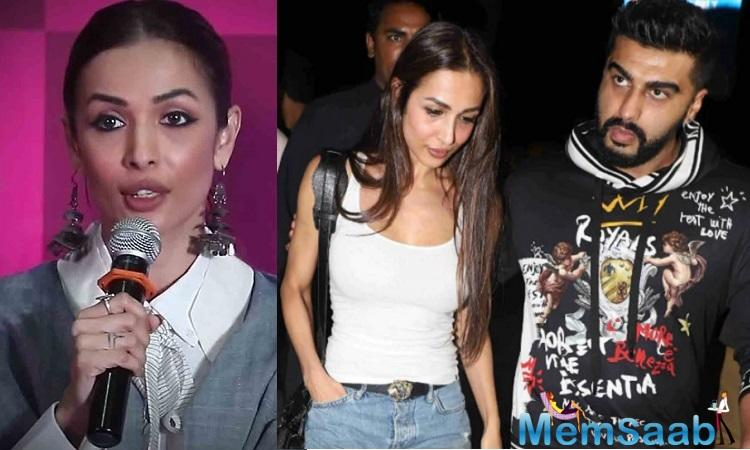 Arjun and Malaika were spotted returning from Italy after ringing in latter's 45th birthday. It seems like the couple has decided to put the rumours to rest, and take their relationship a step ahead.