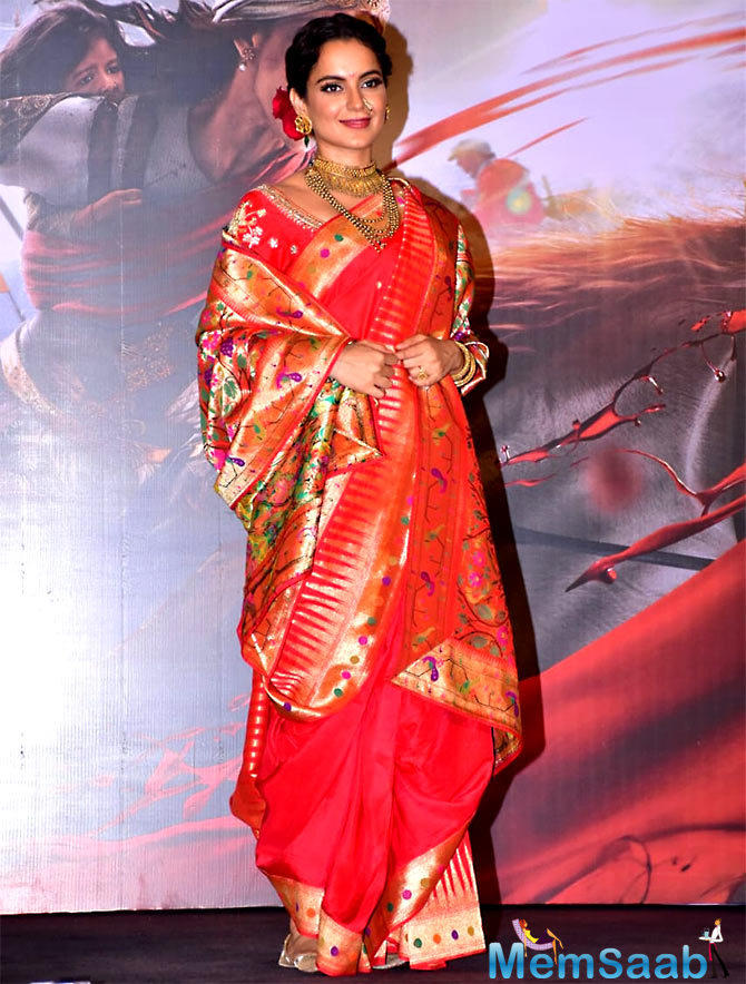In past interviews, Kangana had said it was her dream to play the role of Rani Laxmibai in her film career.