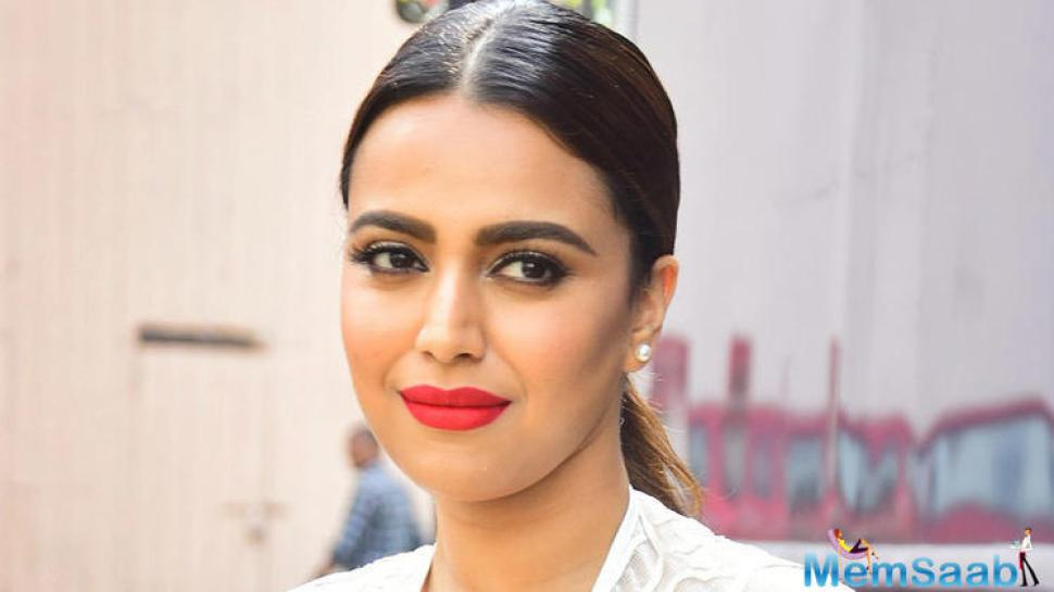 Swara Bhasker, who has been a supporter of India's #MeToo movement, terms sexual harassment cases at the workplace as an epidemic. She hopes to bring awareness about it via the film and television industry.