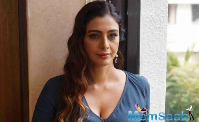 Tabu said that she never understood why she should play a good, simple girl. She stated that she loves doing these good characters also, but playing someone with grey shares is nothing wrong.