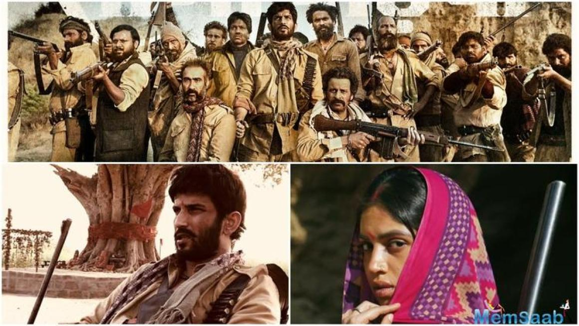 Shot in the valleys of MP, Sonchiriya presents an ensemble cast with an intriguing storyline. Directed by Abhishek Chaubey who has earlier presented 'Udta Punjab' and 'Ishiqiya', 'Sonchiriya' presents a rooted tale set in Chambal.