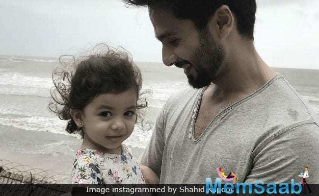 Shahid Kapoor has fast become the epitome of a great husband and father.