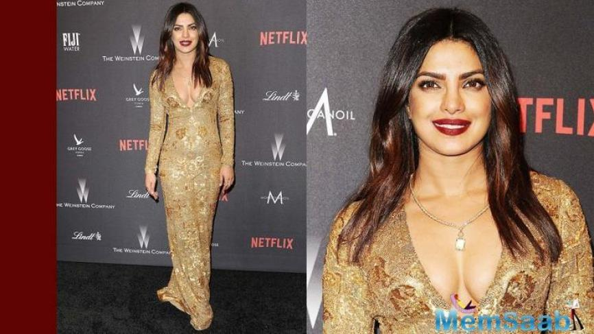 The good news is that the film can be seen on Netflix from February 14, though there isn't much of Priyanka in the film.