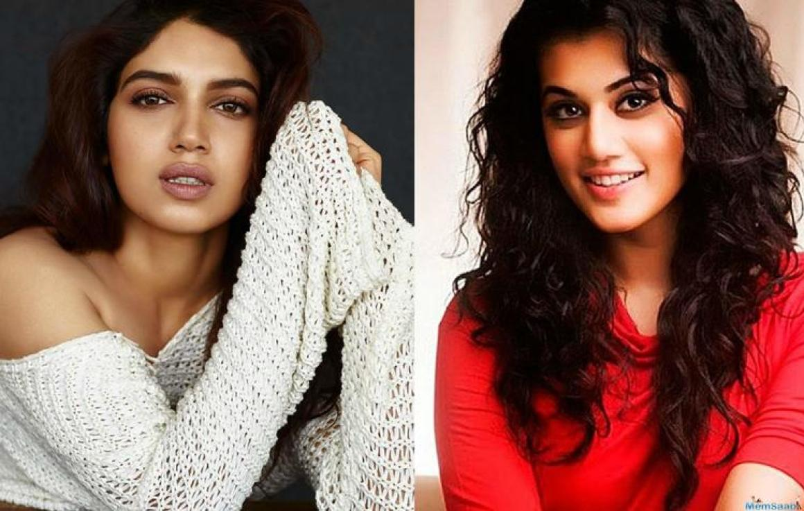 Well, that is quite sensible on her part. And it is good to know that all is well between Bhumi and Taapsee.
