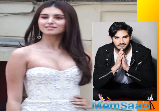 """The source further added, """"In Tara's case, it happens to be the makers of RX 100. She will render the romantic number, which will be picturised on her in the action remake that marks Ahan Shetty's debut."""""""