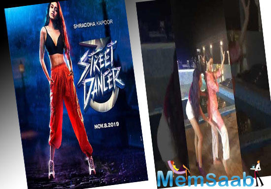 She is a big dance lover and the testimony of the same are the new advanced techniques that she learned during the prep of Street Dancer.