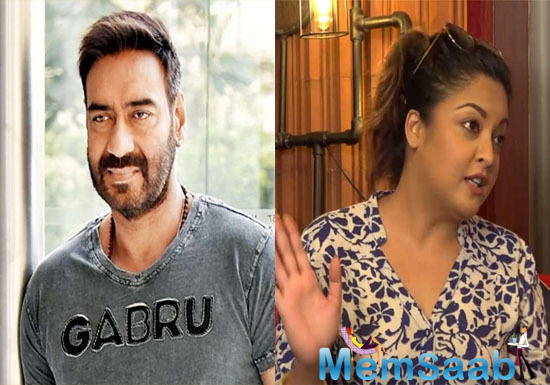 Tanushree Dutta has slammed actor-producer Ajay Devgn for continuing to work with rape accused Alok Nath in the forthcoming film De De Pyaar De.