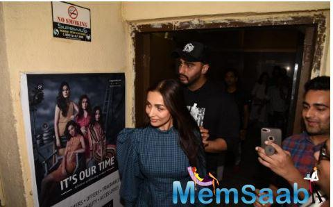 Arjun Kapoor and Malaika Arora are no longer keeping distance and the two do not shy away from making public appearances.