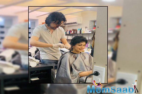 Sonali Bendre also talked about her getting bald and how she wanted to break it to her son Ranveer.