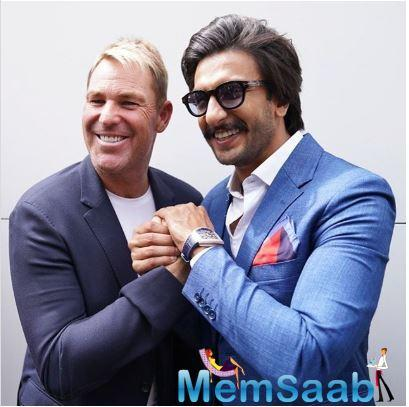 Ranveer Singha also met Sachin Tendulkar and Sir Vivian Richards and shared pictures with both of them on his Instagram account
