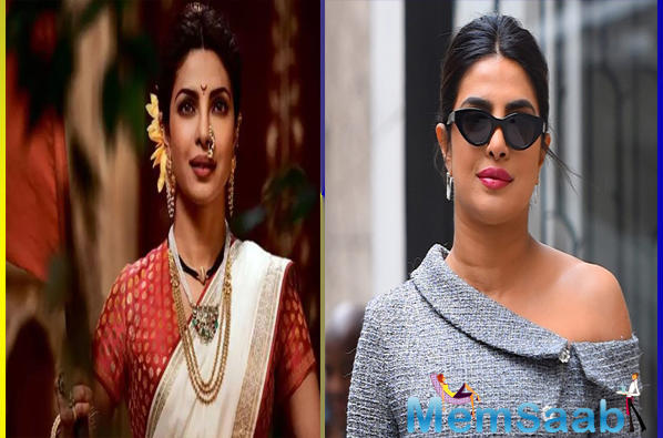 With Bhansali's Malaal seeing Sharmin Sehgal acquire the look of a Maharashtrian in the song Uddhal, Chopra suggested artiste Uday Shirali enable her to slip into the part.