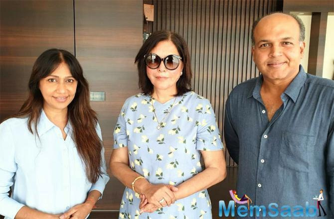 Zeenat Aman will be seen in a special guest appearance in Panipat, where she will essay the feisty character – Sakina Begum.