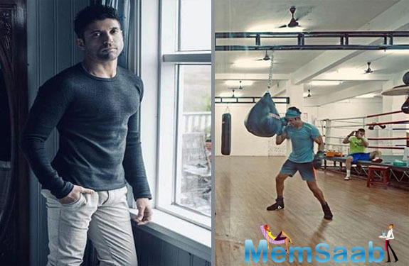 The Zindagi Na Milegi Dobara actor has been actively posting his workout session clips and pictures over his Instagram handle, which is making his fans eager to watch him essay the role of a professional boxer on the big screen.
