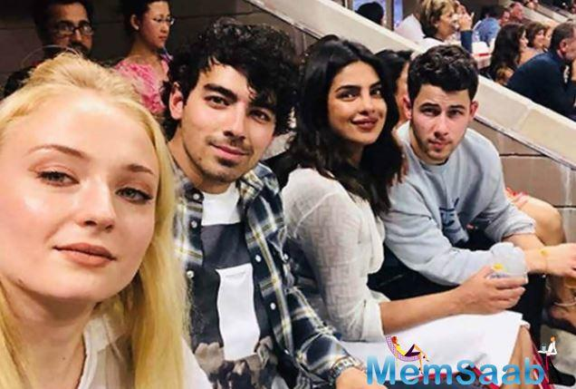 However, the two are not the only ones strolling around in Paris. Joe Jonas and Sophie Turner were also spotted indulging in PDA while on their trip to Paris.