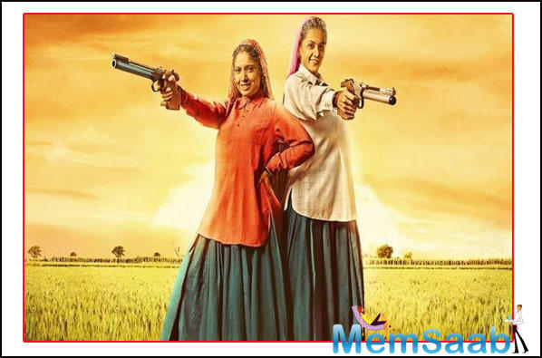 The two leading ladies keep sharing BTS pictures and videos from the sets of the film. The teaser has already created a buzz all over the internet. It is being loved by fans all over the country.