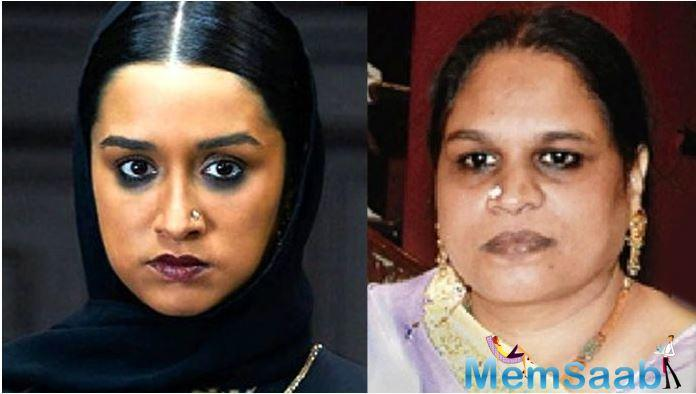 Shraddha went de-glam for the role to got into the skin of Haseena Parkar, and also perfected her diction and attire.