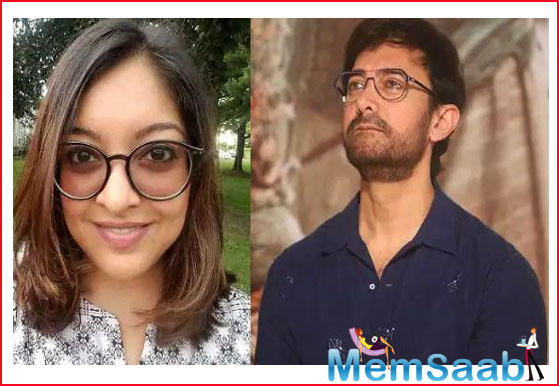 In agreeing to work with a #MeToo accused, Dutta feels that Khan has defeated the purpose of the movement.