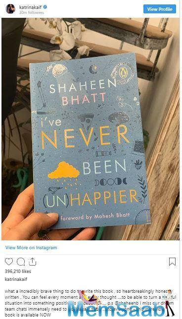 Interestingly, it seems Katrina Kaif is still pally with ex-flame Ranbir Kapoor's girlfriend Alia Bhatt and sister Shaheen.