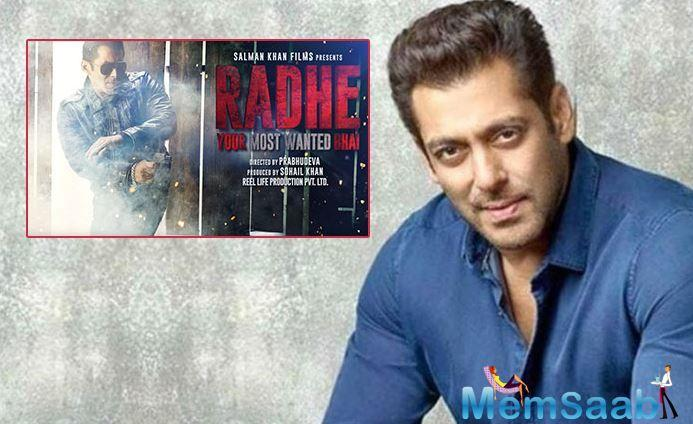The actor, along with director Prabhudeva, producers Salma Khan, Sohail Khan, Atul Agnihotri and Nikhil Namit, has introduced a set of guidelines to be followed on the set of Radhe: Your Most Wanted Bhai.