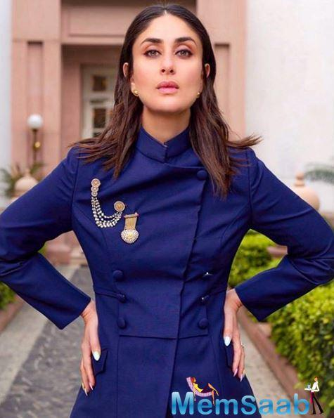 Delving into details of how her character will look like in her 40s, Kareena promptly said that the essence of Poo won't change but she will be calmer.