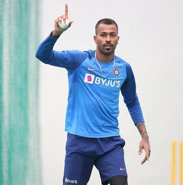 Pandya has been out of cricketing action since September 2019